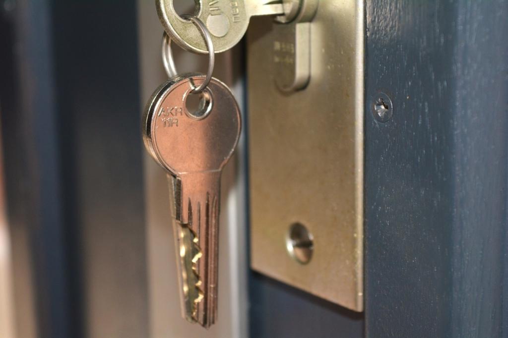 De sleutels van je nieuwe huurwoning